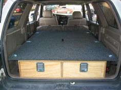 Skyrat's Rear Cargo Box and Sleeping Platform - 3rd Gen 4Runner - YotaTech Forums
