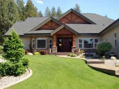Craftsman Style Ranch Homes Rocking R Ranch Craftsman Style