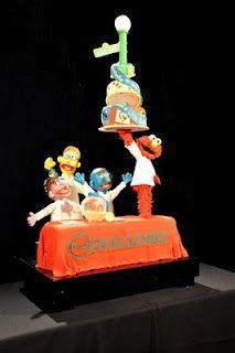 Fancy Cakes by Lauren Blog: Food Network Challenge Sesame Street Cakes