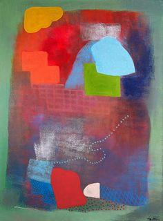 Robert Natkin, Ella Fitzgerald, 1991, Acrylic on Canvas, 65 in x 48 in, #016735 LewAllen Galleries