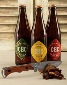 Fine Wine and Spirits - Beer: CBC Craft Beer with Biltong Knife! Beer Online, Fine Wine And Spirits, Biltong, St Patricks Day, Craft Beer, Beer Bottle, Roots, Snacks, Appetizers