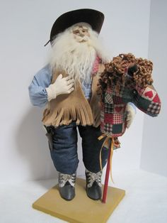 Old West Father Christmas by PutsyPlace on Etsy