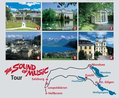 The Sound of Music Locations we are going to visit with you