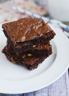 Classic Brownies - the perfect brownie recipe!