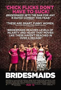 Bridesmaids - A 2011 American comedy film written by Kristen Wiig and Annie Mumolo, directed by Paul Feig and produced by Judd Apatow, Barry Mendel, and Clayton Townsend. The plot centers on Annie (Wiig), who suffers a series of misfortunes after being asked to serve as maid of honor for her best friend.
