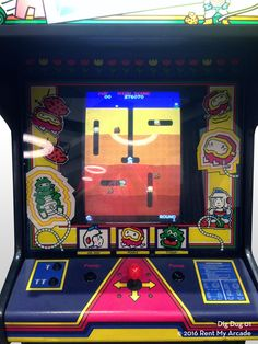 dig dug   Dig Dug - Arcade Machines for Sale   Arcade Games of the ...