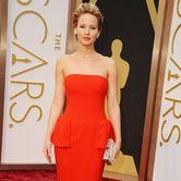 Academy Award Winner Jennifer Lawrence on the 2014 Oscars Red Carpet