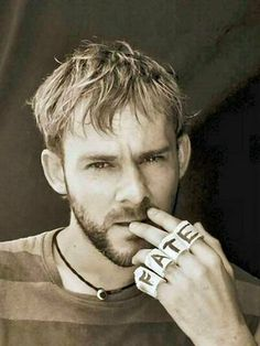 Dominic Monaghan from Lost. Charlie was definitely my favorite character