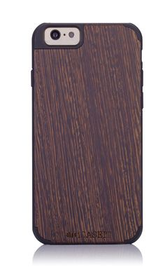 "iCASEIT Wood iPhone Case - Genuinely Natural, Unique & Premium quality for iPhone 6 (4.7"" Display) - Wenge / Black"