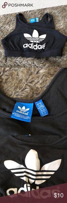 Adidas sports bra with band size 14 child/ medium Adidas sports bra with band size 14 child/ medium (gently used) adidas Other
