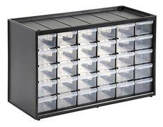 Stanley 1-93-980 - Organizador tipo estantería con 30 cajones: Amazon.es: Bricolaje y herramientas