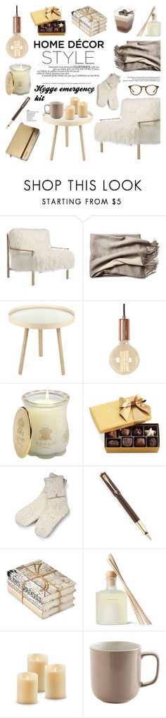 """""""WHAT HYGGE IS REALLY ALL ABOUT?"""" by helenevlacho ❤ liked on Polyvore featuring interior, interiors, interior design, home, home decor, interior decorating, Axel, Menu, Creed and Godiva"""