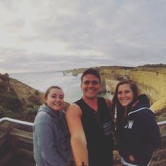 Freezing our arses off at the 12 apostles view point great ocean road! #greatoceanroad #12apostles #victoria #australia by philwilliamss