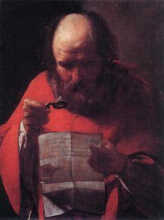 St. Jerome Reading, 1621-1623 - Georges de la Tour