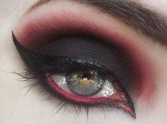 Malificent makeup