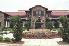 Front Entrance to Childress Winery in Lexington, North Carolina (owned by Richard Childress)