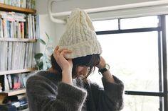 Ravelry: Cabled knit cap pattern by YOKOTA CO,.LTD. (DARUMA)