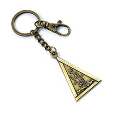 Buy Fantastic Beasts: Macusa Keyring online and save! MACUSA Keyring on a antique brass plated ring and clip This keyring has been created using the official style guide from Warner Bros. Puzzles 3d, Mighty Ape, Christmas Stocking Fillers, Fantastic Beasts, Key Rings, Antique Brass, Style Guides, Plating, Personalized Items