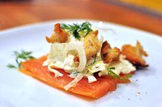 laksemad  -  Hurtig og fabulous forret fra en tøseweekend – kan også spises af mænd