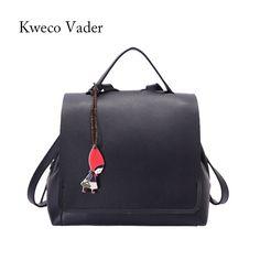 2017 Fashion Pendant Backpack Shoulder Bag Mochila Rucksack Knapsack High  Quality Women s Backpack Schoolbag Bags Bolsa be3aad4674c8c