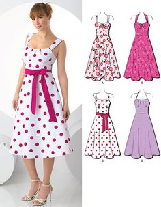 This is what I will choose for my next sewing lessons I think! New Look 6966 from New Look patterns is a Misses' Dresses sewing pattern wish I could make