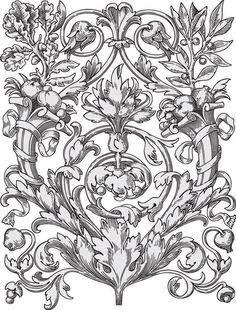 Gallery.ru / Фото #109 - Трафареты и узоры для точечной росписи - zabelo4ka