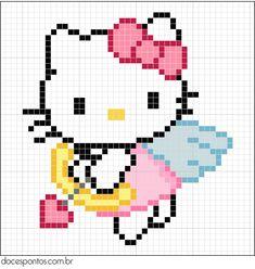 Hello Kitty cross stitch (doces pontos)