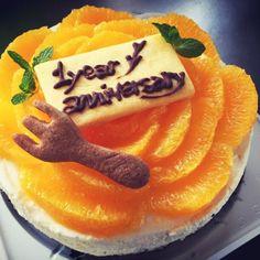 1年記念日✨に彼氏の好きなレアチーズケーキ - 40件のもぐもぐ - レアチーズケーキ by blqbxxx