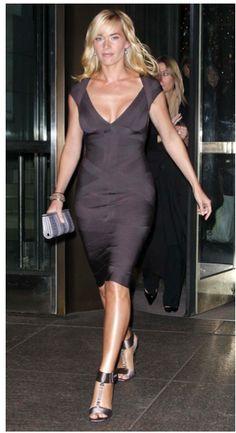 Hervè Leger Bandage dress wraps around  This fabulous Brit Chick  the Wonderful Kate Winslett