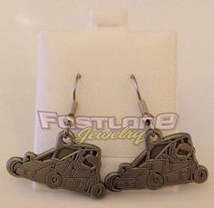 Quarter Midget Charm Dangle Earrings- These are one of our exclusive charms!
