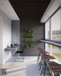 IDEAS & INSPIRATIONS Looking to enhance your home or simply create an oasis for your space? My client centered approach can do this fo… Modern Apartment Decor, Apartment Balcony Decorating, Apartment Balconies, Modern Balcony, Small Balcony Decor, Balcony Ideas, Balcony Garden, Small Terrace, Home Interior Design
