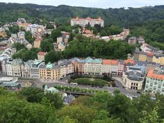 **Jeleni Skok Rock (great viewpoint) - Karlovy Vary, Czech Republic Hot Springs, Czech Republic, Prague, Trip Advisor, Attraction, Castle, Rock, Mansions, House Styles