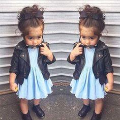Cheap jacket suzuki, Buy Quality jacket motor directly from China jacket cordura Suppliers:  Item Name: Toddler Leather Jacket Blazer Girls Cardigan kinderkleding Long Sleeves Outerwear   Color: