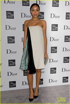 Ashley Madekwe: Dior Pret-A-Porter Dinner! | jessica biel ashley madekwe dior pret a porter dinner 03 - Photo