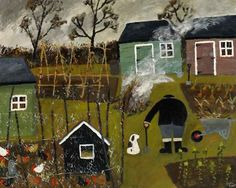 Gary Bunt Twigs and Leaves - My master's very busy He's been digging up the weeds Then he fed the chicken Now he's burning twigs and leaves Winters creeping up on us The nights are drawing in This time of year my paws get cold So I prefer it in the spring