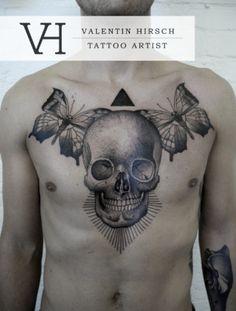 Fine Tattoo Art by Valentin Hirsch http://www.creativeboysclub.com/fine-tattoo-art-by-valentin-hirsch