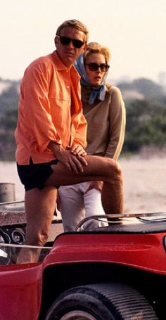 'The Thomas Crown Affair' - Steve McQueen and Faye Dunaway.