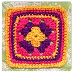 """the 'homely blanket' quest – square 15 - from the """"Made with Loops"""" blog"""