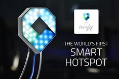 The device is also a Bluetooth Beacon, allowing owners to receive mobile payments in a shop, cafe or restaurant. Airfy can also provide WiFi...