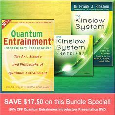 JUNE 2014 SPECIAL: The Kinslow System book & Exercises 2-CD Set + 50% OFF Quantum Entrainment Introductory Presentation DVD http://www.shop.qeprocess.com/Kinslow-System-Book-Exercise-CD-get-50-off-the-QE-Into-DVD-QE-SP-0614.htm