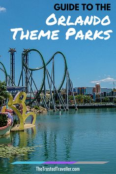 The Incredible Hulk Coaster at Universals Islands of Adventure in Orlando, Florida - Guide to the Orlando Theme Parks - The Trusted Traveller