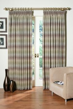 """Cheyenne Moss/Taupe Ready Made Fully Lined Curtains (Moss/Taupe, 104"""" x 72"""" (264cm x 183cm)) , http://www.amazon.co.uk/dp/B00BNG5FBO/ref=cm_sw_r_pi_dp_ITBtrb1QWGV1N"""