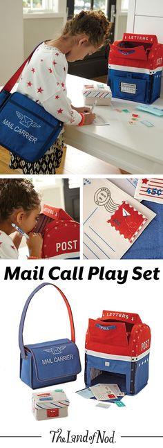 Make a special delivery with the help of our kids Mail Call Play Set. This post office play set includes a mailbox, mailbag, postcard, envelope plus, stamps and labels. All play items are extra soft making it easy for little ones to grasp. Plus, it makes a unique gift for any girl and boy.