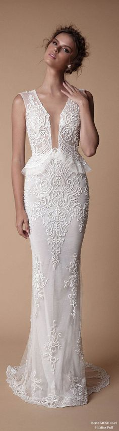 MUSE by berta bridal collection is true to the BERTA aesthetics and cut, however with a different approach to the design side, as the MUSE creations are more boho-vintage oriented. Muse by Berta's latest collec...