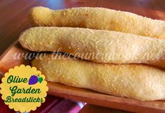 These Olive Garden Breadsticks taste even better than the originals. They are so soft and the garlic butter topping is to die for! So good!
