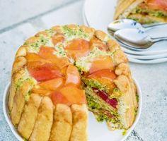 La recette de la charlotte aux abricots de Christine par Julie Andrieu