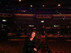 Myself onstage at the Fox Theatre in Atlanta, Georgia.