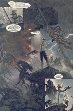 aliens den beauvais dark horse comics - Buscar con Google