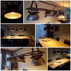 Onze nieuwe lamp van Industrial Home 😍
