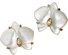 Cartier Mother of Pearl Orchids